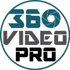 circular logo of 360 Video Pro