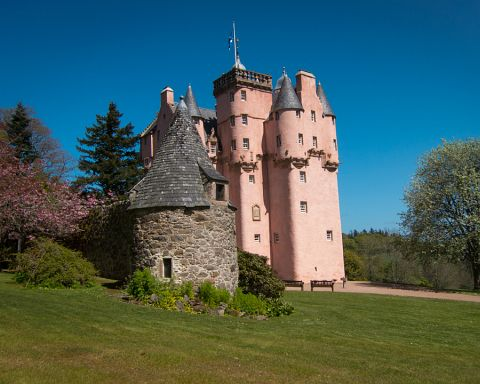 Image of a typical Scottish Castle