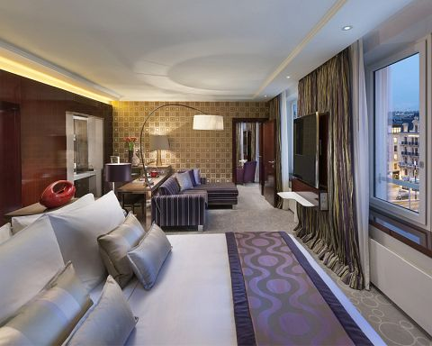 image of a beautifully presented hotel suite