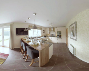 360 tour of a luxury housing development near Banchory, Aberdeenshire